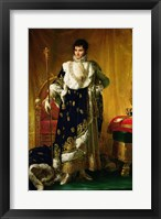 Framed Portrait of Jerome Bonaparte
