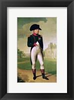 Framed Napoleon I - posed