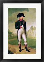 Framed Napoleon I - posed