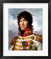 Framed Joachim Murat Portrait