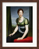 Framed Portrait of Madame Regnault de Saint-Jean d'Angely