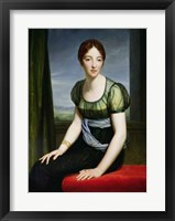 Framed Portrait of Madame Regnault de Saint-Jean d'Angely
