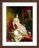 Framed Empress Josephine