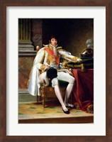 Framed Louis Bonaparte