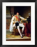 Framed Louis Bonaparte