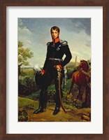 Framed Frederic William III