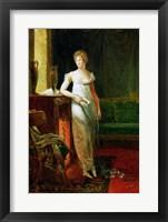 Framed Catherine Worlee