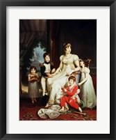 Framed Caroline Bonaparte