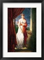 Framed Madame Tallien