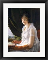 Framed Seated Portrait of Marie-Philippe-Claude Walbonne