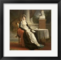 Framed Marie-Laetitia Ramolino -detail