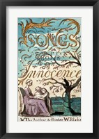 Framed Songs of Innocence