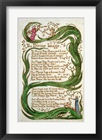 Framed Divine Image, from Songs of Innocence, 1789
