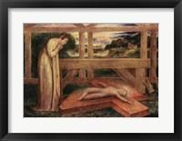 Framed Christ Child asleep on a Cross, c.1799-1800