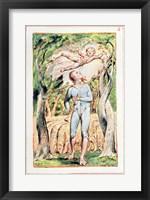 Framed Songs of Innocence; the Piper