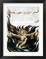 Framed America a Prophecy; 'Thus wept the Angel voice', the emergence of Orc
