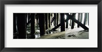 Framed Seaside Dock