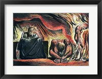 Framed Jerusalem The Emanation of the Giant Albion;  Vala, Hyle and Skofeld, showing the crowned Vala