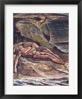Framed Milton a Poem: Albion on the rock, 1804