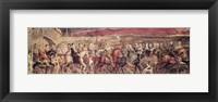 Framed Chaucer's Canterbury Pilgrims ,1810