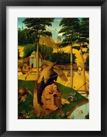 Framed Temptation of St. Anthony, 1490
