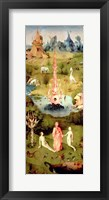 Framed Garden of Earthly Delights: The Garden of Eden