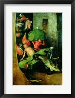 Framed Last Judgement (Altarpiece): Detail of the Cask