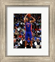 Framed Tayshaun Prince 2010-11 Action