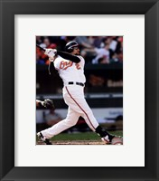 Framed Nick Markakis 2011 Action
