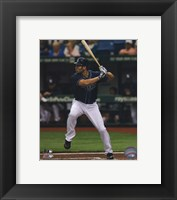 Framed Johnny Damon 2011 Action