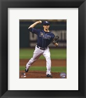 Framed Jeremy Hellickson 2011 Action