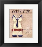 Ocean View - mini Framed Print