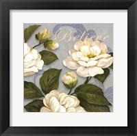 Inspiration Camellias - mini Framed Print