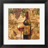 Framed Chianti Abundance - mini