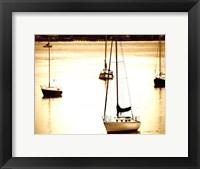 Framed St. Augustine Harbor I - mini