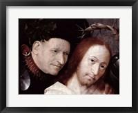 Framed Christ Mocked Detail