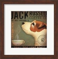 Framed Jack Russell Coffee Co