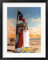 Surf Conditions Framed Print