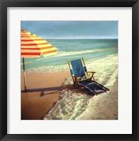 Chaise 'n' Wave Framed Print