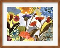 Framed Flower Garden II