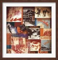 Framed Ski Lodges