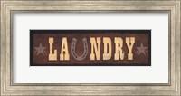 Framed Western Laundry