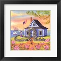 Framed Seafarer Cottage