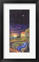 Framed Woodland Twilight II