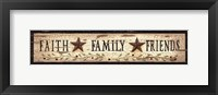 Framed Faith* Family* Friends