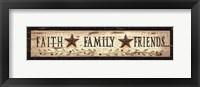 Framed Faith* Family* Friends