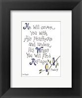 Find Refuge Framed Print
