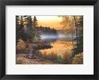 Framed Rising Sun