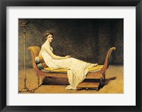 Framed Madame Recamier, 1800
