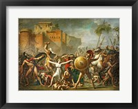 Framed Sabine Women, 1799